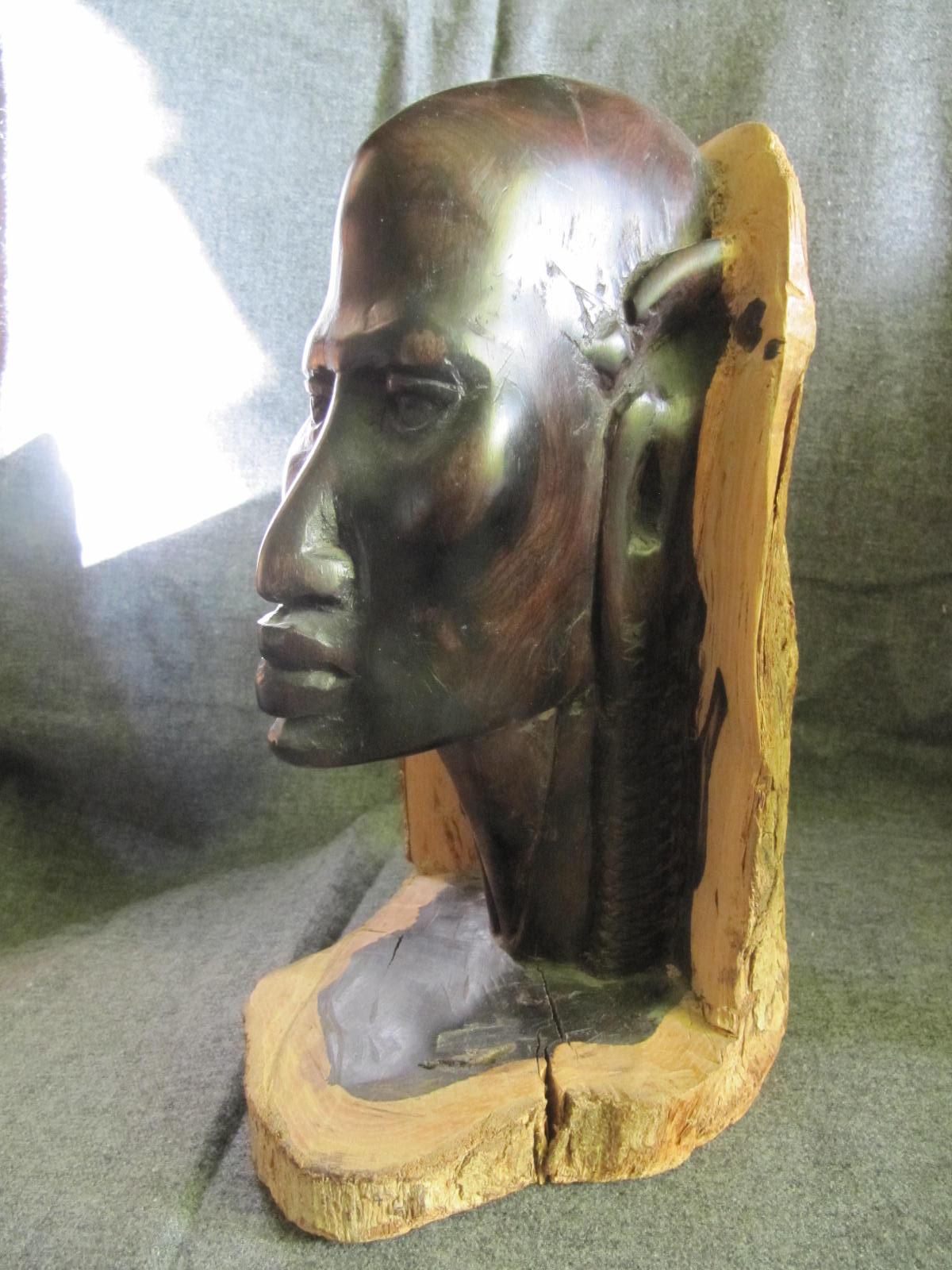 statue africaine ebene