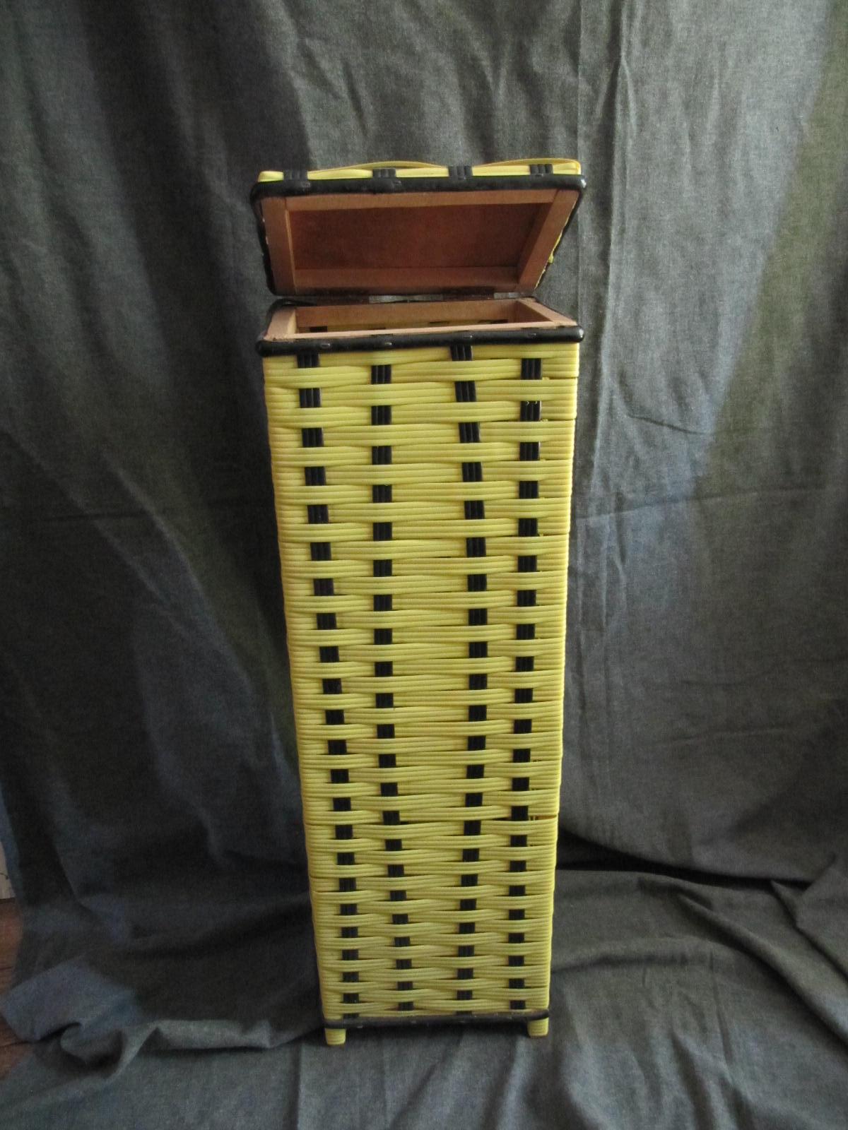 vendu meuble de rangement pour pain baguette vintage mes. Black Bedroom Furniture Sets. Home Design Ideas